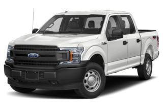 2019 Ford F-150 XL 4x4 SuperCrew Cab Styleside 5.5 ft. box 145 in. WB