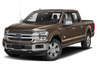 2019 Ford F-150 King Ranch 4x4 SuperCrew Cab Styleside 5.5 ft. box 145 in. WB