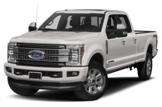 2019 Ford F-350 Platinum 4x4 SD Crew Cab 6.75 ft. box 160 in. WB SRW