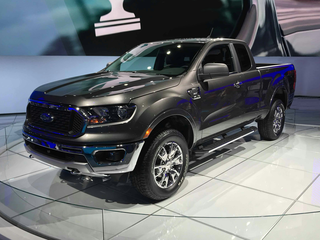 2019 Ford Ranger XL 4x2 SuperCab 6 ft. box
