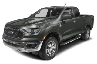2019 Ford Ranger Lariat 4x2 SuperCab 6 ft. box