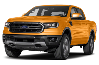 2019 Ford Ranger Lariat 4x2 SuperCrew 5 ft. box