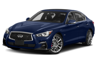 2019 Infiniti Q50 3.0t Red Sport 400 4dr Rear-wheel Drive Sedan