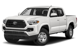 2019 Toyota Tacoma SR5 V6 (A6) 4x4 Double Cab 140.6 in. WB