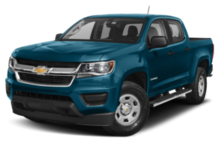 2020 Chevrolet Colorado LT 4x2 Crew Cab 5 ft. box 128.3 in. WB