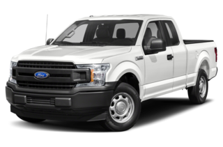 2020 Ford F-150 F-150 XLT 4x4 SuperCab Styleside 8 ft. box 163 in. WB