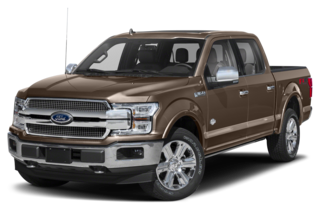 2020 Ford F-150 F-150 King Ranch 4x2 SuperCrew Cab Styleside 5.5 ft. box 145 in. WB