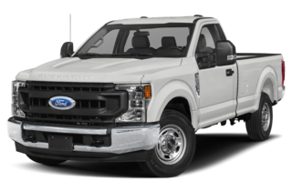 2020 Ford F-350 F-350 XL 4x4 SD Regular Cab 8 ft. box 142 in. WB DRW