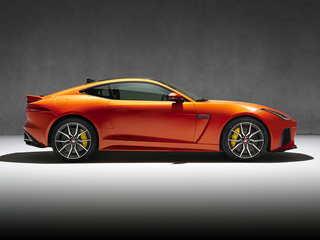 2020 Jaguar F-TYPE SVR All-wheel Drive Coupe