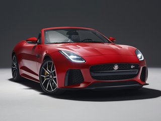 2020 Jaguar F-TYPE Checkered Flag Limited Edition All-wheel Drive Convertible