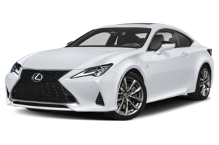 2020 Lexus RC 350 RC 350 F SPORT 2dr Rear-wheel Drive Coupe