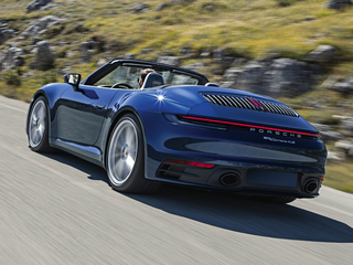 2020 Porsche 911 Carrera 4S All-wheel Drive Cabriolet